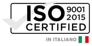 AZIENDA CERTIFICATA ISO9001 ITA